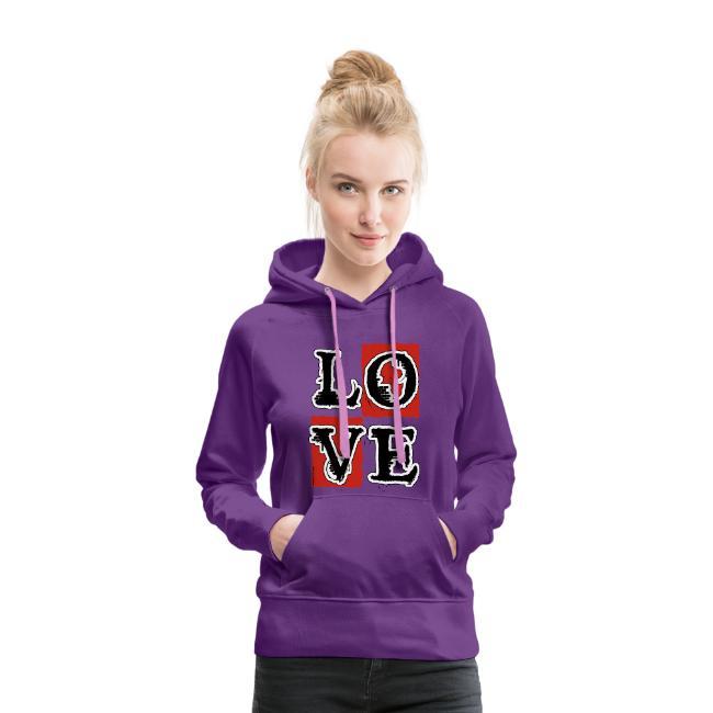 Sweat-shirt à capuche Premium pour femmes (2)