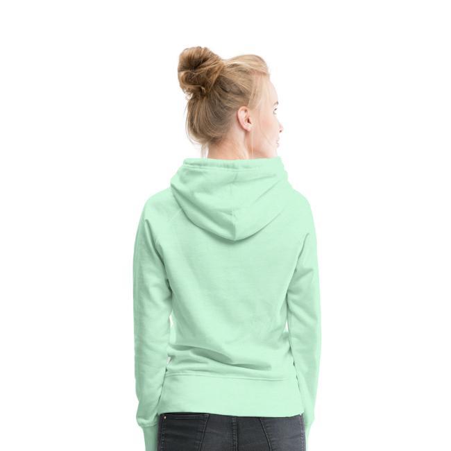 Sweat-shirt à capuche Premium pour femmes - dos (2)