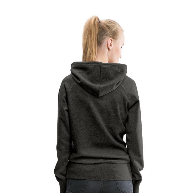 Sweat-shirt à capuche Premium pour femmes - dos (3)