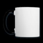 Mug panoramique contrasté blanc et noir T-shirt chic et choc