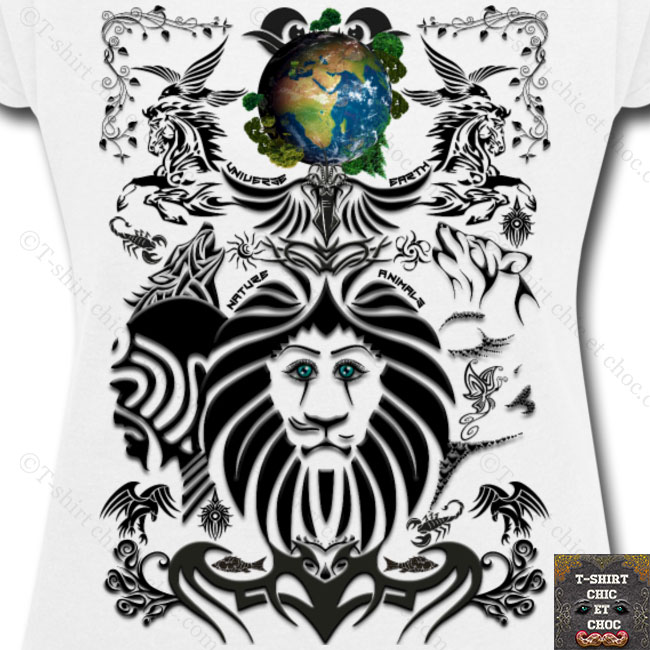 Mother EARTH by T-shirt chic et choc