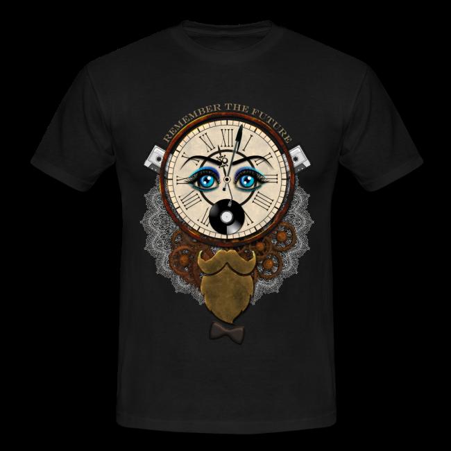 Remember the future sur Tee shirt classique pour homme couleur foncé T-shirt chic et choc