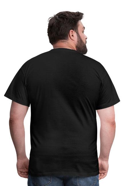 T-shirt coupe classique pour hommes, 100 % coton - vue dos
