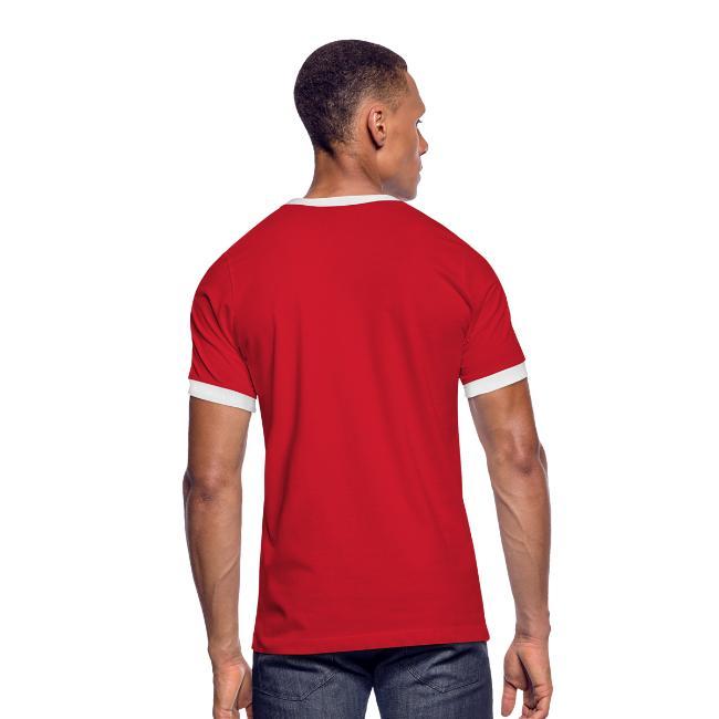 T-shirt rétro Homme - dos