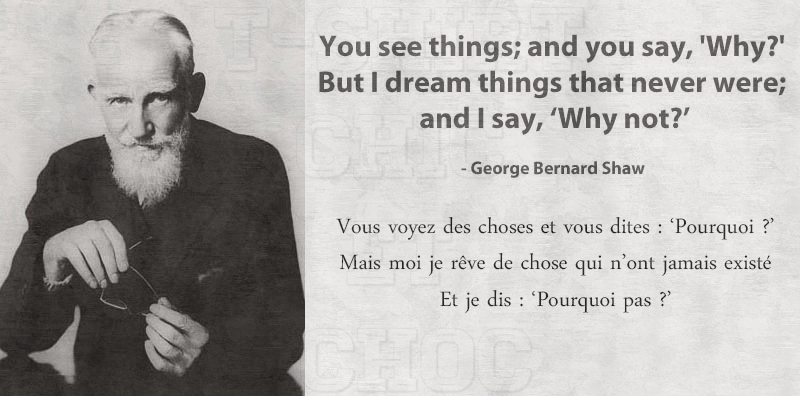 Citation George Bernard Shaw