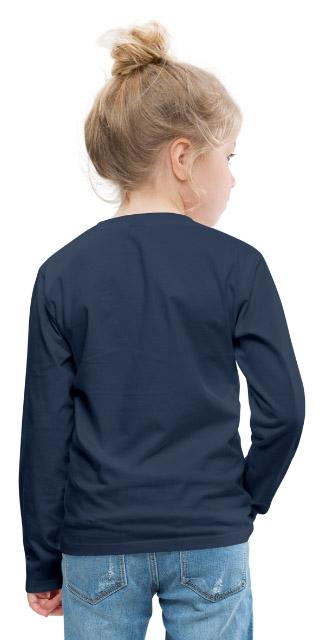 T-shirt manches longues Premium Enfant vue dos