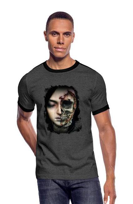 T-shirt rétro chic et choc coupe près du corps