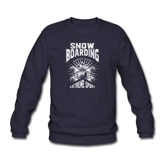 Extreme Sport Snowboarding sur Sweat-shirt Homme - tshirtchicetchoc